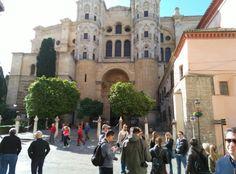Conociendo los secretos de #Málaga con los compañerod de @AndaluciaTB Nos espera un dia genial!! #ATBMálaga