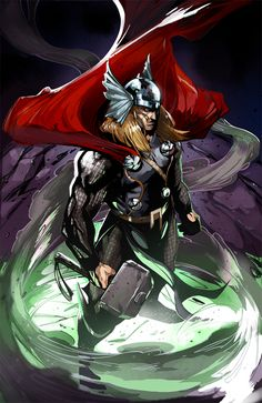 Thor by Peter Nguyen