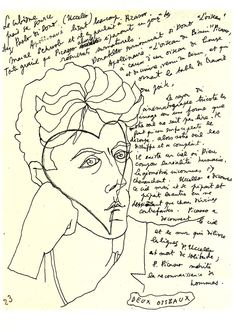 Jean Cocteau French poet, novelist, dramatist, designer, playwright, artist and filmmaker.