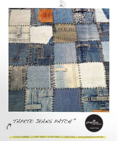 Phenicia Concept - Tapete: Jeans Patch