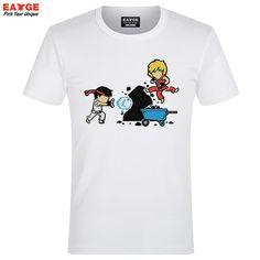 Ryu Chibi Hadoken Vega Blanka Zangief Capcom family Guile Street Fighter II III IV V Tee T-Shirt
