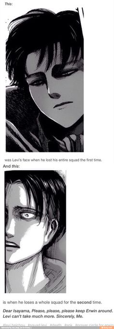 ((Please don't hurt Levi any more Isayama. He's already extremely hurt and we don't need him to experience more pain.))