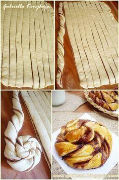 Gabriella kalandjai a konyhában :): Kakaós csavart csiga