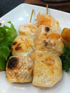 Thai salmon bbq
