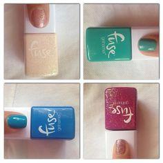 """""""Color swatches of the new Fuse Gelnamel by SensatioNail #gelnamel""""  Via: http://instagram.com/got2bgelous"""