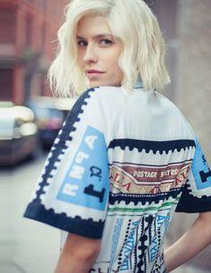 Elena Perminova's London Fashion Week Wardrobe Autumn Winter 2013 ELLE UK