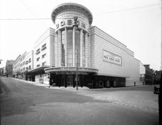 The Odeon Cinema, Union Street Bristol Visit Bristol, Bristol Uk, Old Pictures, Old Photos, Vintage Photos, Bauhaus, Cinema Uk, Cinema Architecture, Bristol City Centre
