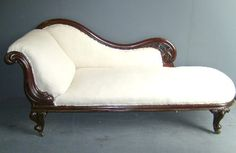 Books and Chocolate: The Victorian Chaise Longue by Marghanita Laski Lounge Sofa, Sofa Set, Sofa Chair, Vintage Furniture, Recycled Furniture, Home Furniture, Divan Sofa, Fainting Couch, Victorian Decor