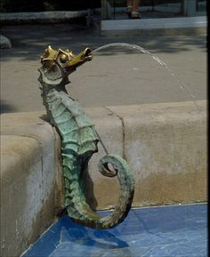 Seahorse Water Fountain
