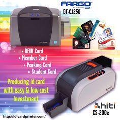 Diskon S/D 5% khusus untuk order Printer Kartu khusus hari ini. Cetak kartu Id card dijamin mudah dan cepat dengan hasil yang tajam dan tidak cepat luntur. Sebuah investasi pendukung yang tepat akan akan membantu proses bisnis anda menjadi efektif dan efsisien. Call : 082141757555. Kami sediakan beragam solusi printer pencetak kartu id card dan konsumable dengan harga yang etrjangkau dan kualitas yang terjamin.  #idcardprinter #printerkartu #fargo #hiti #zebra #datacard…