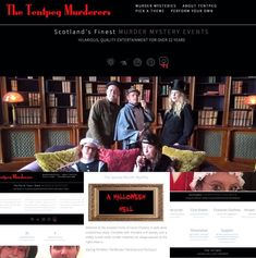 Whilst we are waiting to #getbackonthatstage we have been busy giving the Tentpeg website a massive makeover. Included on our brand new site is a very exciting new addition which over the years has been much requested! The chance to buy your very own Tentpeg Murder Mystery Script and become a Tentpeg Murderer! Perfect for practising in your bubbles, or have a read through over Skype and then perform over Zoom to your family and friends. We have even included a Halloween one for those missing… Murder Mystery Script, Character Outline, Murder Mysteries, News Sites, Over The Years, How To Become, Waiting, Bubbles, Hilarious