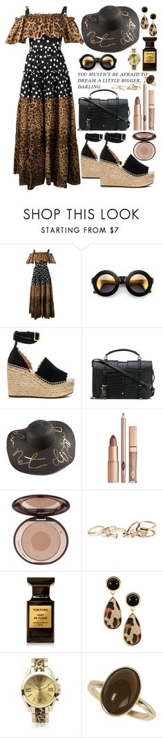 """""""Sassy"""" by xmoonagedaydreamx ❤ liked on Polyvore featuring Dolce&Gabbana, Wildfox, Chloé, Yves Saint Laurent, Charlotte Tilbury, GUESS, Tom Ford, Geneva and Dorothy Perkins"""