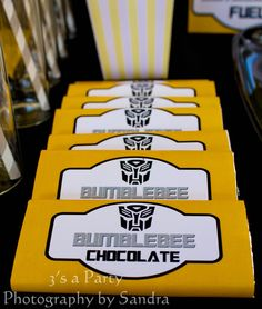 Bumblebee Chocolate