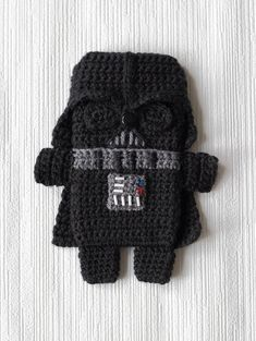 PDF PATTERN Darth Vader Star Wars iPhone by CuteCrochetPatterns