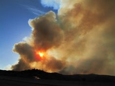 Wildfires in Arizona. 12 May 2012.