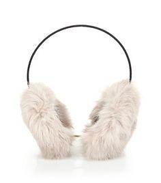 Yves Salomon Fur Earmuffs