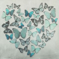 Butterfly Love - Teal
