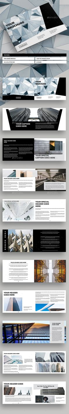 Clean Brochure Landscape