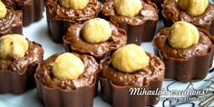 Creative Ideas and Recipes! Truffles, Creative Ideas, Muffin, Food And Drink, Chocolate, Breakfast, Sweet, Desserts, Christmas
