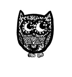 "My doodle | мои ""каракули"" дудлинг | Little owl | маленькая сова | https://vk.com/podelki_legko | https://a100604.wix.com/podelki |  Follow me in instagram: a100604"