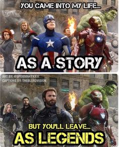 The avengers are more than a story. They are legen… – – James The avengers are more than a story. They are legen… – The avengers are more than a story. They are legen… – Marvel Dc Comics, Marvel Avengers, Captain Marvel, Bd Comics, Marvel Films, Marvel Heroes, Avengers Story, Baby Avengers, Avengers Humor