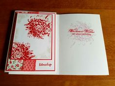 Blooming  with kindness cards. Stampinup.