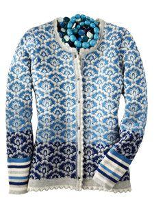 now that's a beautiful sweater! Fair Isle Knitting Patterns, Knitting Designs, Knit Patterns, Motif Fair Isle, Fair Isle Pattern, Loom Knitting, Hand Knitting, Norwegian Knitting, Use E Abuse