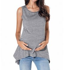 Maternity Shirt, Womens Maternity Sexy Off Shoulder Striped Tops Casual Pregnancy Blouse Tops Stylish Maternity, Maternity Tops, Maternity Fashion, Maternity Nursing, Stylish Pregnancy, Summer Maternity, Clothes For Pregnant Women, Breastfeeding Clothes