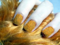 Star Trek Tribble nails. Inspired by the Loot Crate Galactic exclusive Tribble.