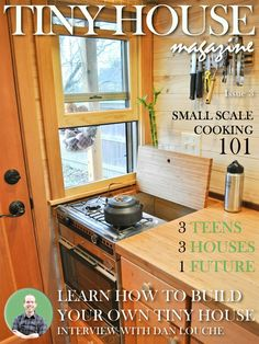 Tiny house magazine.
