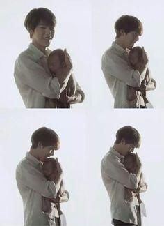 Kim woo bin and the bairn. Kim Woo Bin, Hong Jong Hyun, Lee Jong Suk, Lee Min Ho, Flower Boys, Boys Over Flowers, Kim Rae Won, Uncontrollably Fond, Lee Soo