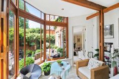 Outdoors indoors, beautifully created conservatory in LDN
