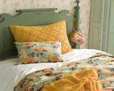 #PineConeHill Candlewick Curry Decorative Pillow