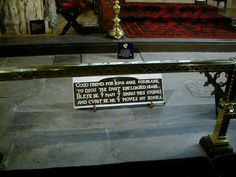 William Shakespeare's Grave