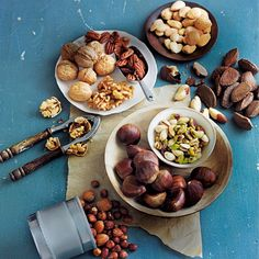 When the urge to snack hits, swap the biscuits for nuts! They're energising AND tasty. afternoon snack.