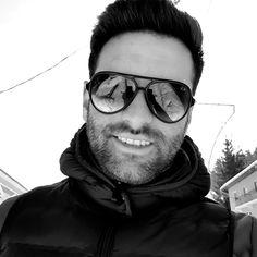 Man,men,smile,sunglasses,rayban