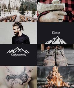 """Modern Thorin"" (this is kinda weird. But also kinda cool)"