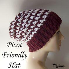 Picot Friendly Hat ~