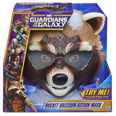 Marvel Guardians of the Galaxy Rocket Raccoon Action Mask | ToysRUs Australia