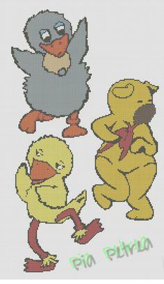 Bamse, kylling og ælling