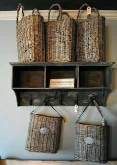 Great idea for entryway