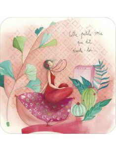 "Jehanne WEYMAN Carte d'art ""Petite voix..."" Watercolor Art, Image Illustration, Artistic Images, Illustration, Painting, Art, Fairy Tales, Art Journal, Coloring Pages"