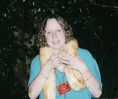 Donna with Albino Ball Python Snake in Singapore - The Nature In Us Newsletter - 4/15/15