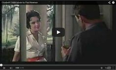 A video biographical tribute to Elizabeth Taylor by Paul Newman. #elizabethtaylor #paulnewman