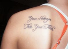 The Worst #Tattoo Spelling Fails.  Your vs. You're. Apparently this is the most common grammatical mistake made