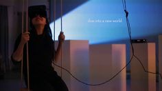 Swing -   Swing  Interactive VR installation project by Christin Marczinzik and Thi Binh Minh Nguyen  #VR
