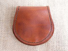Leather Coin Wallet Leather Coin Purse Leather by FarBeyondLeather Coin Wallet, Coin Purse, Leather Purses, Leather Wallet, Vegetable Tanned Leather, Coins, Buy And Sell, Handmade, Stuff To Buy