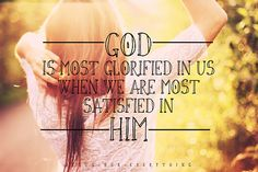 Hmm amen..it is so beautiful when you find that you are completely satisfied in Him <3 for He truly is all that I need <3