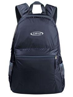 394d7fbe59 G4Free - G4Free 20L Ultra Lightweight Foldable Waterproof Backpack Dark  Gray - Walmart.com
