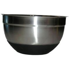 Star Dist 82365 Stainless Steel German Nonskid 8. 6 inch Bowl with Silicon Base *** Click on the image for additional details.